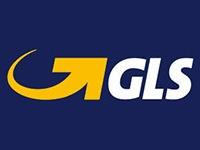 Wir versenden mit GLS